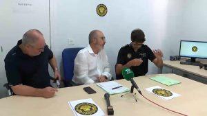 El alcalde y el jefe de la Policía Local de Benejúzar niegan problemas de seguridad en el municipio