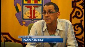 El socialista Paco Cámara toma el relevo al frente del Ayuntamiento de Cox