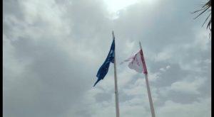 Orihuela luce sus nueve banderas azules como segunda ciudad de España con más distintivos