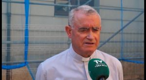 La Diócesis restaura la cornisa del Palacio Episcopal para evitar nuevos desprendimientos