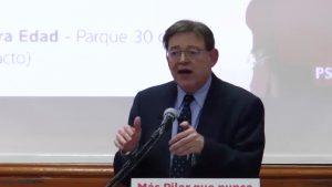 Ximo Puig acude a Pilar de la Horadada para apoyar a la candidata socialista a la alcaldía