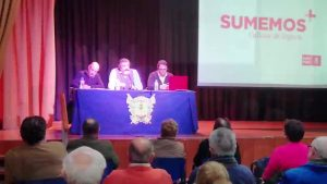 El PSPV-PSOE continúa su campaña por la comarca para explicar Presupuestos GV