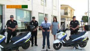 Policía Local de Pilar de la Horadada cuenta con dos nuevas motocicletas
