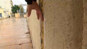 Deficiencias en las placas del cauce del río Segura a su paso por Formentera