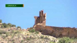 En noviembre acaban las obras de consolidación de la Torre Taifal del Castillo de Orihuela