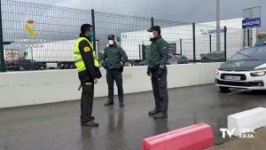 La Guardia Civil vigila polígonos y zonas rurales durante el Estado de Alarma