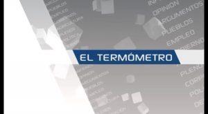 """Mañana, María Gómez y Emilio Bascuñana en """"El Termómetro"""" de Televisión Vega Baja"""