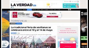 """La Vega Baja se queda sin la edición del diario """"La Verdad"""" en Alicante"""
