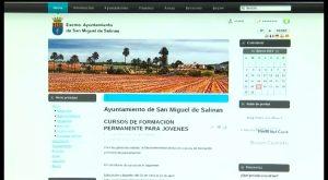 El Ayuntamiento de San Miguel de Salinas renueva su página web