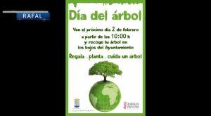 El ayuntamiento de Rafal conmemora el Día del Árbol repartiendo 800 árboles