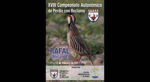 Rafal celebra este fin de semana el XVIII Campeonato Autonómico de Perdiz con Reclamo