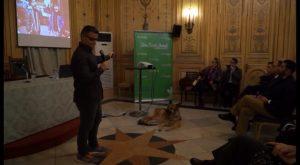 El paralímpico español David Casino ofrece una conferencia motivacional en Orihuela
