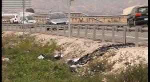 Un trágico accidente deja un fallecido y cuatro heridos graves en un accidente de tráfico en Orihuela