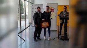 La ciclista almoradidense Melisa Gómiz entra en el Programa Promesa de la UMH
