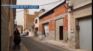 Granja de Rocamora contará en mayo con un edificio multiusos de unos 300 metros cuadrados