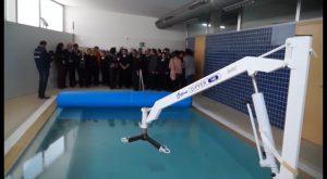 El centro ADA de Almoradí cuenta con una renovada piscina climatizada