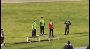 Atletas del Club de Dolores en el Campeonato de España