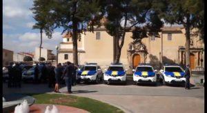 La Policía Local de Orihuela renueva su flota mediante el renting de ocho vehículos