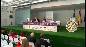 Todo preparado para la celebración del XIII Seminario Juridico fiscal de Rotary Club Torrevieja