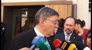 Puig reclama en Orihuela al gobierno de Rajoy inversiones para el Corredor Mediterráneo