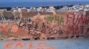Actos vandálicos en el Patrimonio Arqueológico de Guardamar