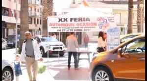 Éxito de la XIV edición de la Feria de Comercio y Outlet de Almoradí