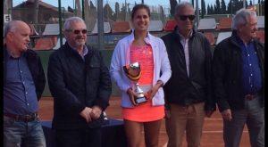 Eva Guerrero, campeona del campeonato ITF Junior de Vinaroz