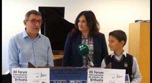 El almoradidense Alexandro García gana el Concurso Nacional de Jóvenes Intérpretes de Sagunto