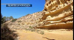 """""""Acto vandálico"""" en la ruta de senderismo de Río Seco en Pilar de la Horadada"""