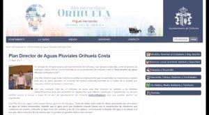 Presentado el Plan Director de Aguas Pluviales Orihuela Costa con una inversión de 17 millones