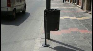 El municipio de Callosa de Segura renueva las papeleras en varias de sus vías.