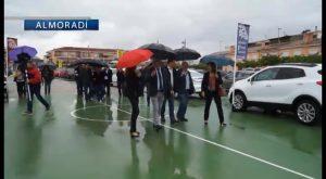 Inauguración pasada por agua en Almoradí