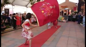 Granja celebra la festividad de la Santísima Cruz con la centenaria bendición de los aires