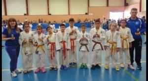 El club de Judo Nozomi consigue 21 metales en Castalla