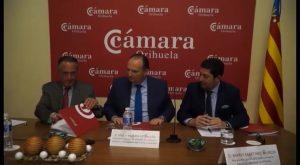 Un acuerdo permite a la Cámara de Comercio de Orihuela desarrollar iniciativas en su entorno