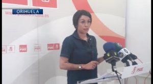 El PSOE de Orihuela critica la convocatoria de un pleno para aprobar facturas por REC