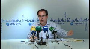 Albaladejo advierte de una posible demanda por presunta prevaricación al gobierno de Puig
