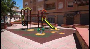 Finalizan las obras en los parques de La Cruz y San Roque de Callosa de Segura