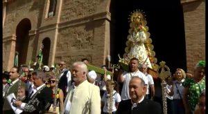 El uso de animales centra la polémica en la romería de la Virgen de Rocío en Torrevieja
