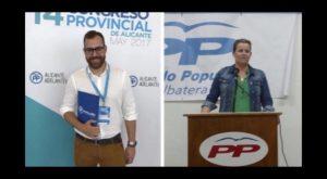 Manuel Ramón Simón y Ana Serna elegidos presidente del PP en Dolores y Albatera