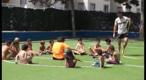 Los menores de Almoradí beneficiarios del catering estival disfrutan también de actividades lúdicas