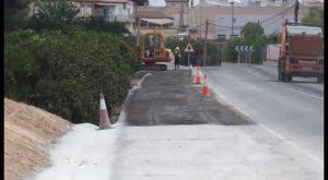 Un carril bici unirá el casco urbano de Benferri con el campo de fútbol municipal