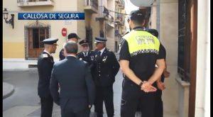 La Policia Local de Callosa de Segura celebra la festividad de los Ángeles Custodios