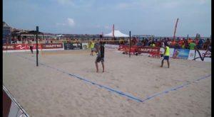 La playa de La Glea acoge este fin de semana el Campeonato de España de Tenis Playa 2017