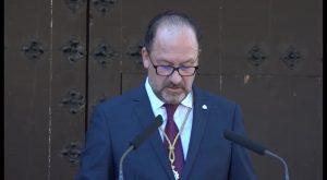 Bascuña pide unidad frente a los separatistas en su discurso del 9 de octubre