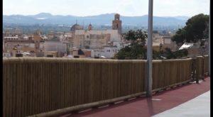 El Diputado de Cooperación Municipal visita las obras del Mirador de los Hiladores de Callosa