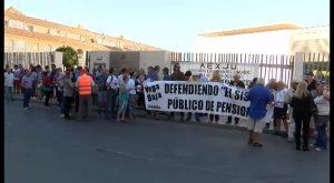 Encadenados, en defensa del sistema público de pensiones