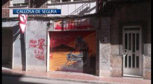 La sede de EU de Callosa aparece repleta de pintadas fascistas