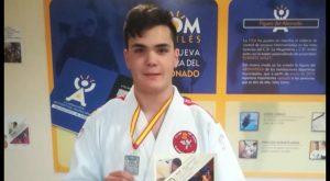 El judoca de Almoradí Rubén Bas logra la segunda posición en la Copa de España
