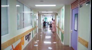 """El área de Pediatria del Hospital Vega Baja se convierte en un """"bosque mágico"""""""